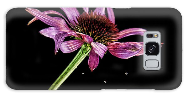 Flowing Flower 6 Galaxy Case by John Crothers