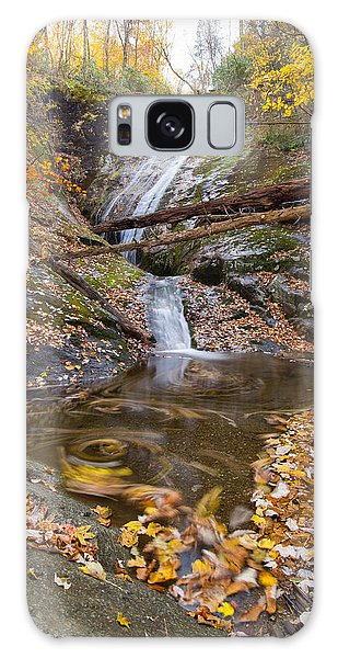 Flowing Leaves Galaxy Case by Alan Raasch
