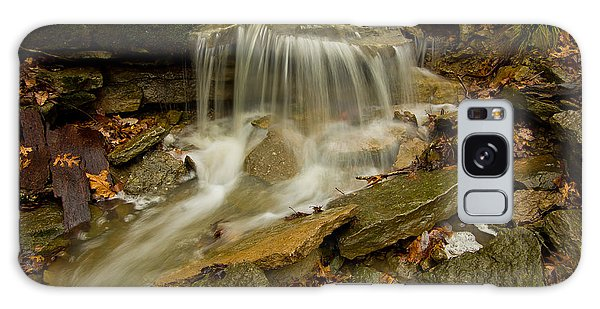 Flowing Over The  Rocks Galaxy Case by Ulrich Burkhalter