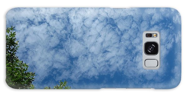 Fluffy Summer Clouds 1 Galaxy Case