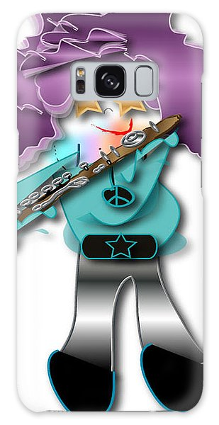 Flute Player Galaxy Case by Marvin Blaine
