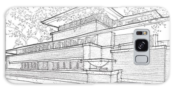 Flw Robie House Galaxy Case