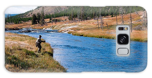 Fly Fishing In Yellowstone  Galaxy Case