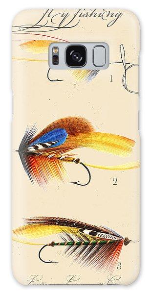 Sportsman Galaxy Case - Fly Fishing-jp2094 by Jean Plout