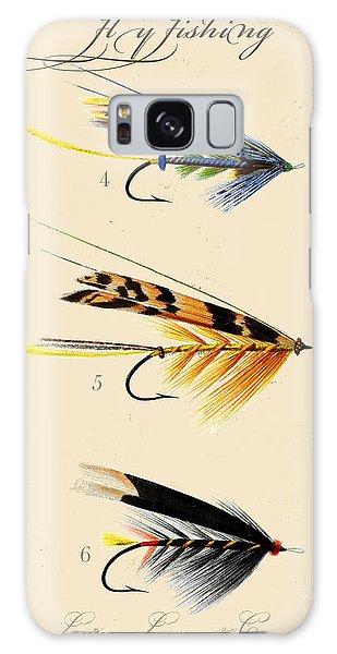Sportsman Galaxy Case - Fly Fishing-jp2095 by Jean Plout