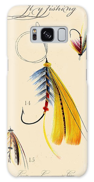 Sportsman Galaxy Case - Fly Fishing-jp2098 by Jean Plout
