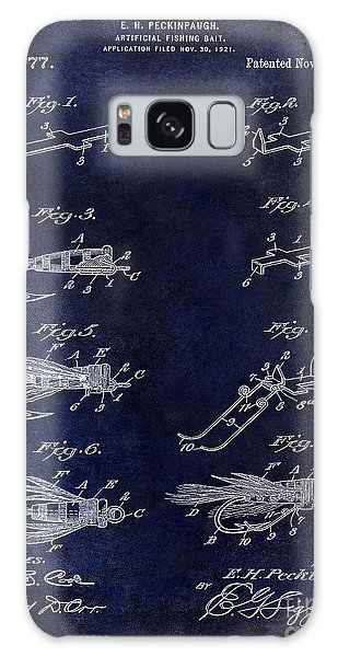 1922 Fly Fishing Lure Blue Galaxy Case