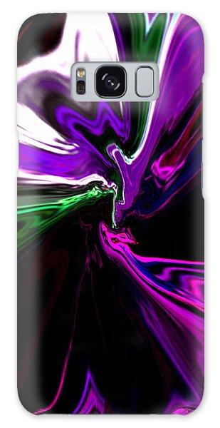 Purple Rain Homage To Prince Original Abstract Art Painting Galaxy Case
