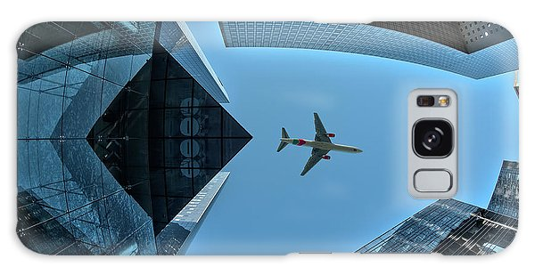 Airplanes Galaxy Case - Fly Over by Marc Pelissier