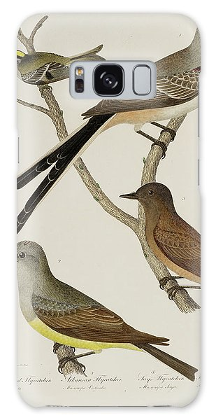 Flycatcher Galaxy Case - Flycatcher And Wren by British Library