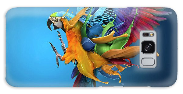 Parrot Galaxy Case - Flying Colours by Sulaiman Almawash