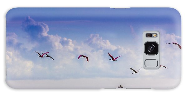 Ibis Galaxy S8 Case - Flying Free by Marvin Spates