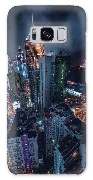 River Galaxy Case - Flying Hong Kong by Javier De La