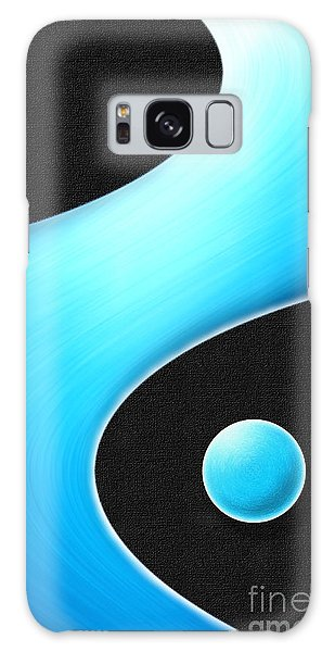 Flying In A Blue Dream Galaxy Case by Cristophers Dream Artistry