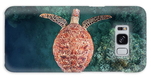 Turtle Galaxy Case - Flying Over The Reef by Barathieu Gabriel