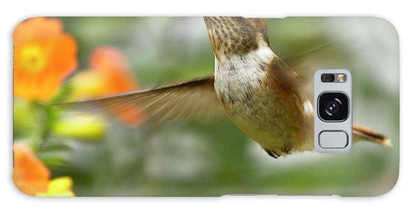 Flying Scintillant Hummingbird Galaxy Case