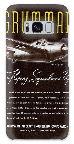Grumman Flying Squadrons Up Galaxy Case
