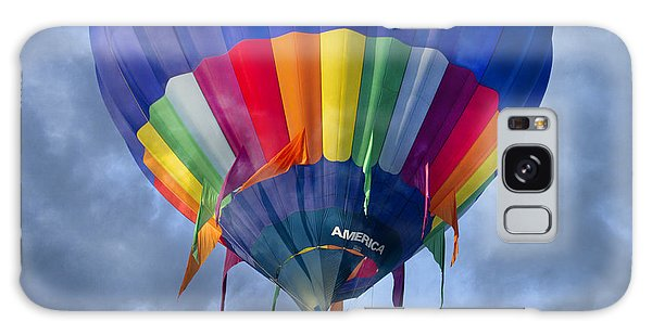 Hot Air Balloons Galaxy Case - Flying The Coop by Betsy Knapp