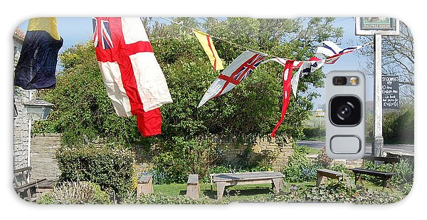 Flying The Flag For St George Galaxy Case by Linda Prewer