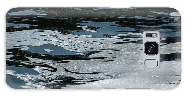 Foam On Water Galaxy Case