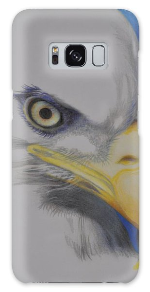 Focused Eagle Galaxy Case