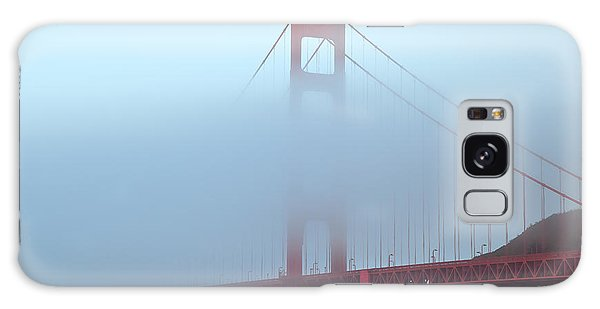 Fog And The Golden Gate Galaxy Case by Jonathan Nguyen