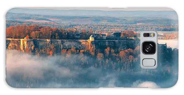 Fog Around The Fortress Koenigstein Galaxy Case