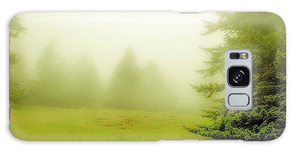 Fog Bank Galaxy Case by Craig Perry-Ollila