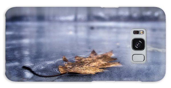 Fog Ice Leaf Galaxy Case by Craig Szymanski