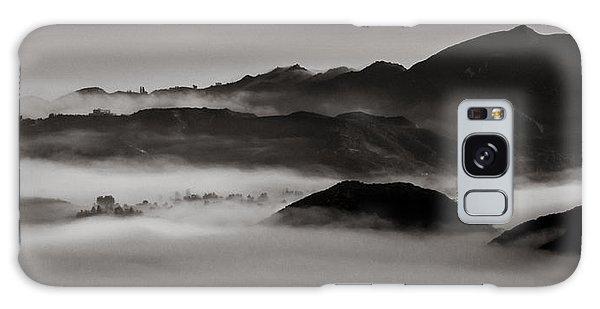 Fog In The Malibu Hills Galaxy Case
