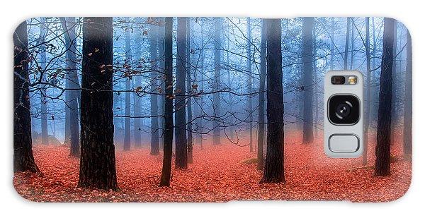 Fog On Leaves Galaxy Case by Edgar Laureano