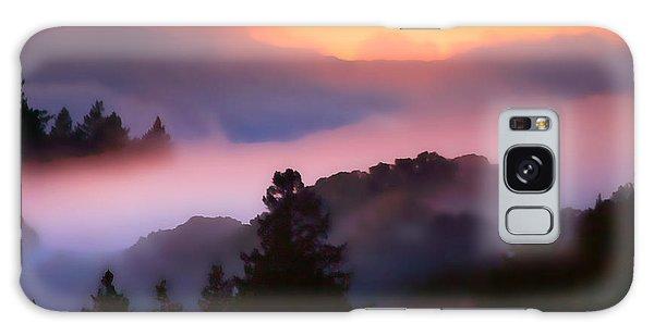 Fog Rolls In From The Ocean Galaxy Case by Wernher Krutein