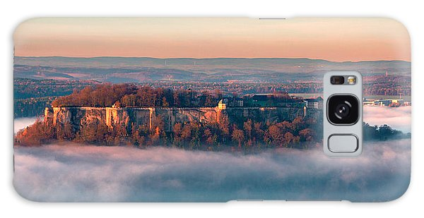 Fog Surrounding The Fortress Koenigstein Galaxy Case