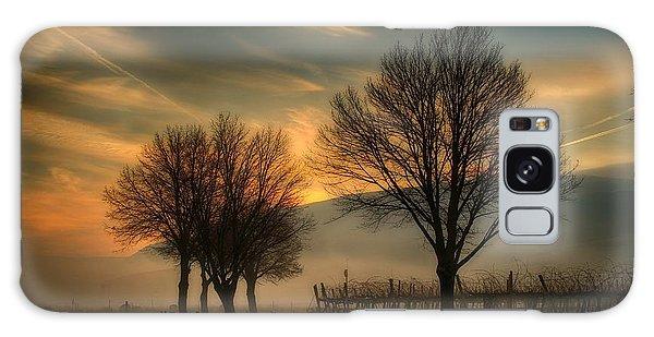 Foggy And Dreamy Galaxy Case by Lynn Hopwood