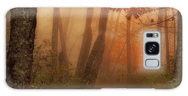 Foggy Autumn Galaxy Case
