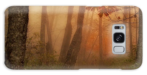 Foggy Autumn Galaxy Case