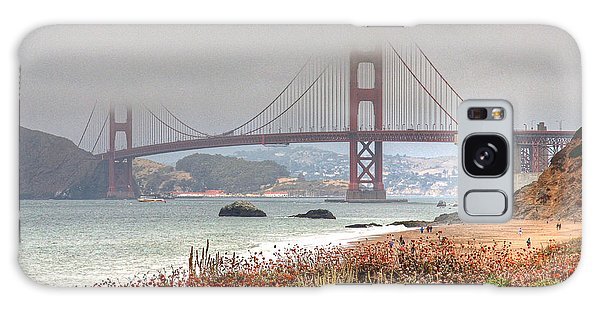Foggy Bridge Galaxy Case