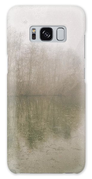 Foggy Day On The Border Of The Lake Galaxy Case