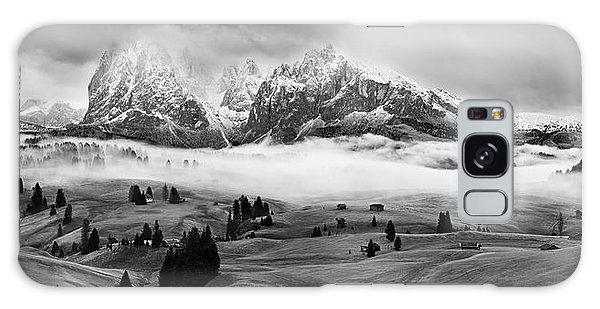 Cottage Galaxy Case - Foggy Dolomites by Marian Kuric