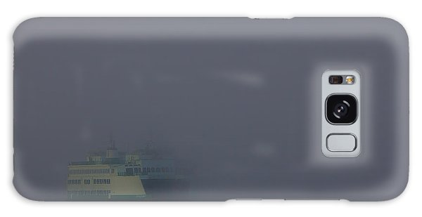 Foggy Ferry Ride Galaxy Case