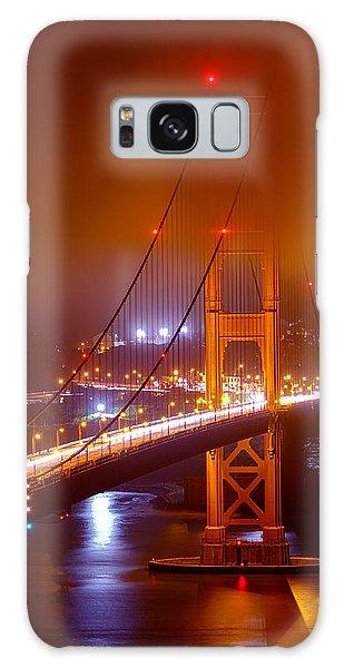 Foggy Golden Gate Galaxy Case