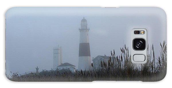 Foggy Montauk Lighthouse Galaxy Case