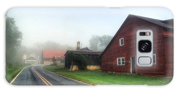 Foggy Morning In Brasstown Nc Galaxy Case