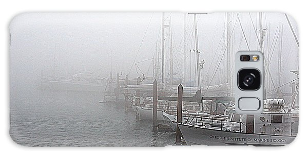 Foggy Morning In Charleston Harbor Galaxy Case