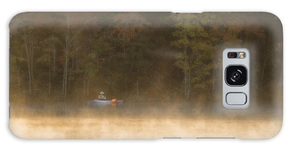 Foggy Morning Kayaking Galaxy Case