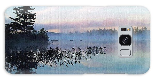 Foggy Morning's Chill -- On Parker Pond Galaxy Case