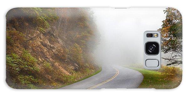 Foggy Parkway Galaxy Case