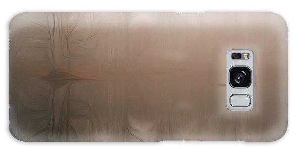 Foggy Reflection Galaxy Case