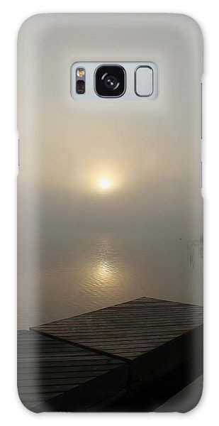 Foggy Reflections Galaxy Case