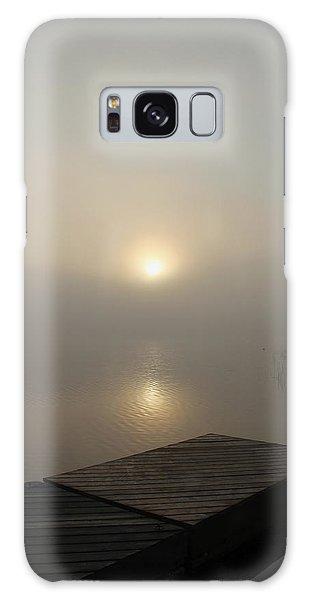 Foggy Reflections Galaxy Case